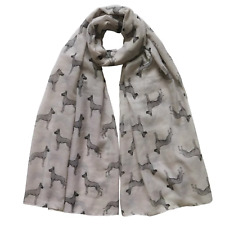 More details for great dane scarf new to range lovely gift available in 2 colours dog lover