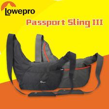 Hot Passport Sling III Waterproof DSLR Camera Shoulder Bag Messenger Bag Padded