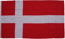 XXL Flagge Dänemark 250 x 150 cm mit 3 Metallösen Hissflagge Fahne Sturmflagge