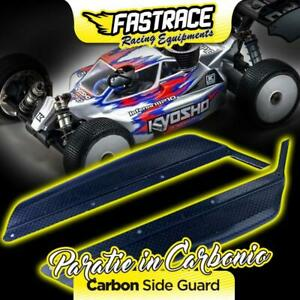 FR800KY FastRace paratie laterali in carbonio/Kevlar side guard per Kyosho MP10