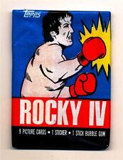 Rocky IV (Movie) Trading Card Packs--Both Versions