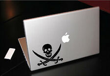 PIRATE BUCCANEER SWORDS JOLLY ROGER MACBOOK CAR TABLET VINYL DECAL