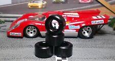 """""""XPG"""" URETHANE SLOT CAR TIRES 2pr PGT-21125 fit NSR 917, Mosler, Ford MkIV, GT40"""