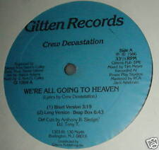 CREW DEVASTATION We're All Going To Heaven SEALED 12""