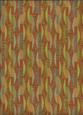 Crypton® Designtex Tinos Terra Cotta Woven Mid Century Modern Upholstery Fabric