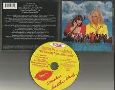 MARTHA WASH w/ RUPAUL It's Raining Men 4 RARE MIXES Limited CD single 1998 USA
