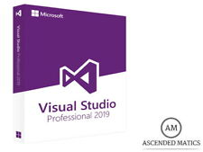 MICROSOFT VISUAL STUDIO 2019 PRO LICENZA COMPLETA - 32/64 BIT PRODUCT KEY MULTI