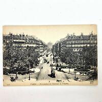 Vintage Antique RPPC Postcard L'Opera in Paris France Real Picture Souvenir