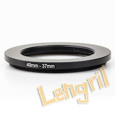 49-37mm Step-Down Metal Adapter Ring / 49mm Lens to 37mm Accessory adapters lens