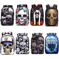 Cool Skull Fashion Men/'s Women/'s Backpack School Bags Travel Rucksack Satchel