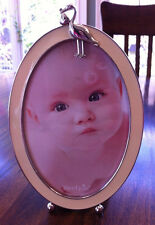 Mud Pie Oval Stork Yellow Picture Frame, NWT, 4 X 6 Inch Vertical Frame