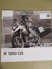 CATALOGUE MOTO : BMW : R 1200 GS   10/2009