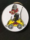 Vintage Collectible Shriner Clown Car Colorful Metal Pin Back Lapel Pin Hat Pin