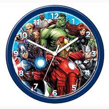 MARVEL Avengers Orologio da parete Nuove Ufficiali Hulk Iron Man Camera da Letto