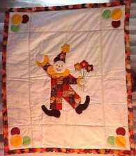 The PATCHWORK CLOWN - Patchwork & Applique PATTERN for Quilts, and more!