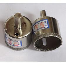 "2 pcs 35mm ( 1 3/8"" inch) Diamond coated hole saw core drills drill bit tile"
