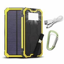 Outdoors Solar Charger 15000mAh Portable Solar Power Bank Dual USB battery <<**>