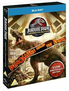 JURASSIC PARK Original Trilogy [Blu-ray] (1993-2001) 3-Movie Box Set Collection