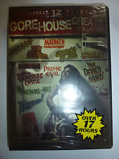The Gorehouse Greats Collection 12 movies DVD 3-Disc Set horror films gore NEW!!