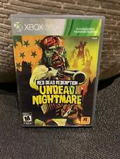 Red Dead Redemption: Undead Nightmare (Microsoft Xbox 360, 2010) - Complete Box