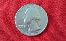 Quarter Dollar, Liberty, In god we trust, United States of America,1967, USA