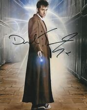 DAVID TENNANT DOCTOR WHO SIGNED 10x8 INCH LAB PRINTED PHOTO