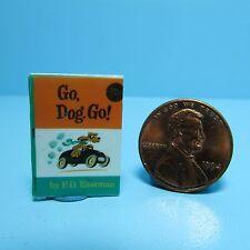 Dollhouse Miniature Replica of Book Dr Seuss Go Dog Go ~ B078