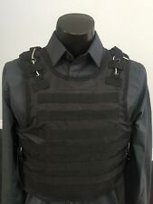 AR500 Hard Plate Level 3 Vest Threat Tactical Carrier Body armor Bulletproof lll