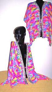 Kaftans Jacket / Vibrant / Sequin Embellished / Hip length /  RR$ 99.95