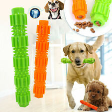 Interactive Dog Pet Puppy Play Feeder Chew Toy Dental Teething Healthy Clean Toy