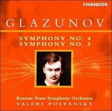 Glazunov: Symphonies 4 & 5, New Music