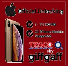 Fastest Factory Unlock For iPhone 4 4S 5 5S 5C 5 6+ On O2 Tesco, Sky GiffGaff UK