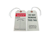 New listing Fire Extinguisher Inspection Tag, 25 Pack