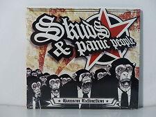 CD ALBUM PUNK    SKUDS & PANIC PEOPLE Human Extinction