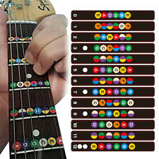 Guitar Fretboard Sticker Pro Note Decal Beginners Learning Music Lesson Decors