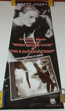 BRYAN ADAMS ON A DAY LIKE TODAY ORIGINAL POSTER EMI MUSIC COLOMBIA 1998
