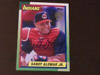 2016 Topps - Archives - Autograph - Sandy Alomar Jr - Card # FFA-SA