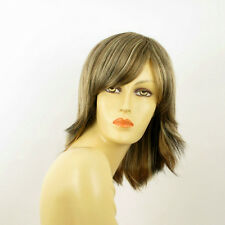 mid length wig Light blond copper wick clear and chocolate ref: 15613H4  PERUK