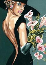 SEG de Paris Tapestry/Needlepoint Canvas – My Fair Lady