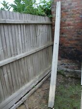 New listing 1X CONCRETE PANEL BOARD FENCE POST 9 FOOT GARDEN FENCING