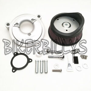 Arlen Ness Stage I Big Sucker Air Filter Kit 2014-16 Harley-Davidson FL's