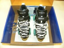 Riedell 265 Fuse Speed Derby Skates Black Size 7 w Atom Juke 88A Wheels New