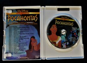 Pocahontas DVD, 2000, Gold Collection Edition Walt Disney rated G Animation