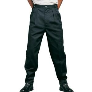 Black Executive Chef Work Pants