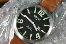 NEW U-BOAT Nero U-53 Automatic Black Dial Mens watch Limited No. 320 MSRP 2400