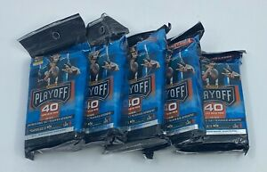 2019 Playoff Football Unopened Sealed 40-Card Value Fat Packs