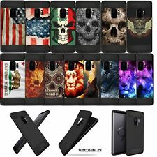 For [Galaxy S9+ /S9 Plus] Slim Fitted Carbon Fiber TPU Case with Design Matte