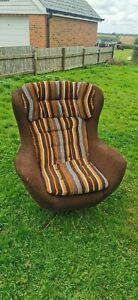 60s Chair retro seat foam