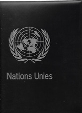 United Nations Geneva office, complete till 2016 in luxury Davo album
