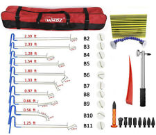 24xupgraded Auto Damage Repair Kit Paintless Dent Removal Hail Hammer Line Board